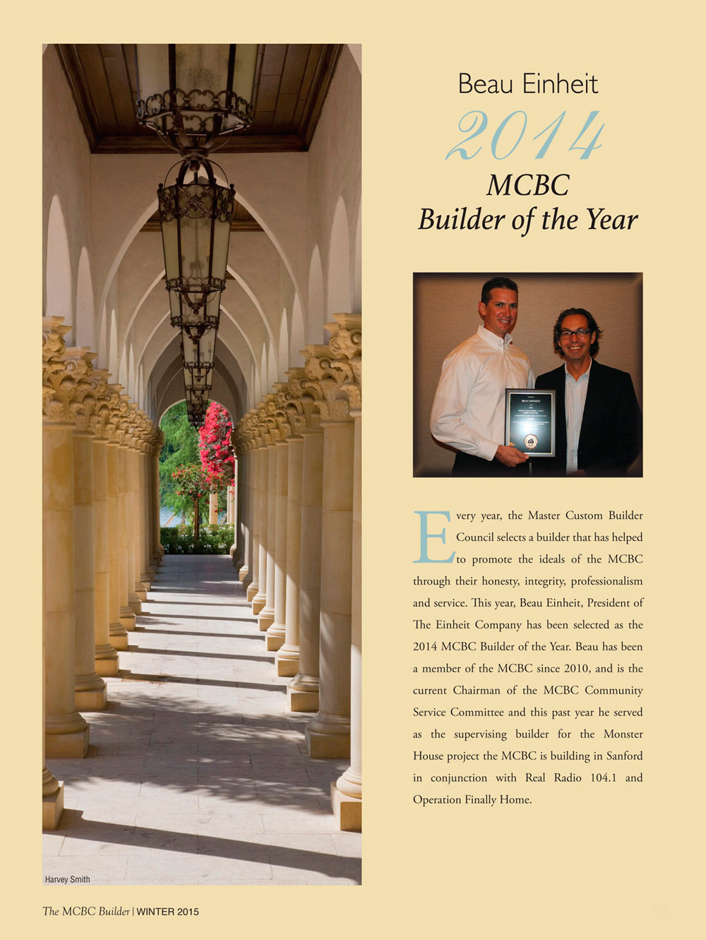 MCBC Builder of the Year