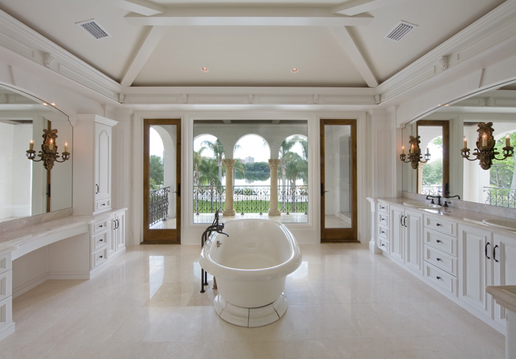 elegant bathroom design built by Einheit Homes