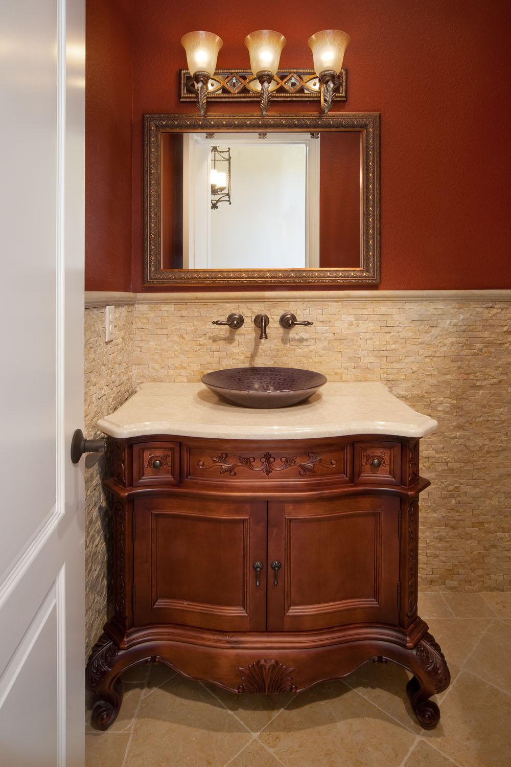 custom bathroom built by Orlando home builder Einheit Homes