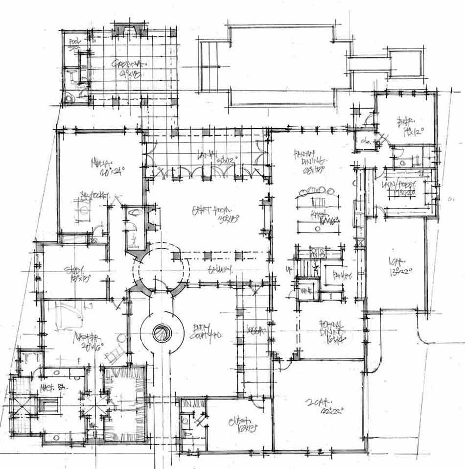 Einheit Company Spanish floor plan