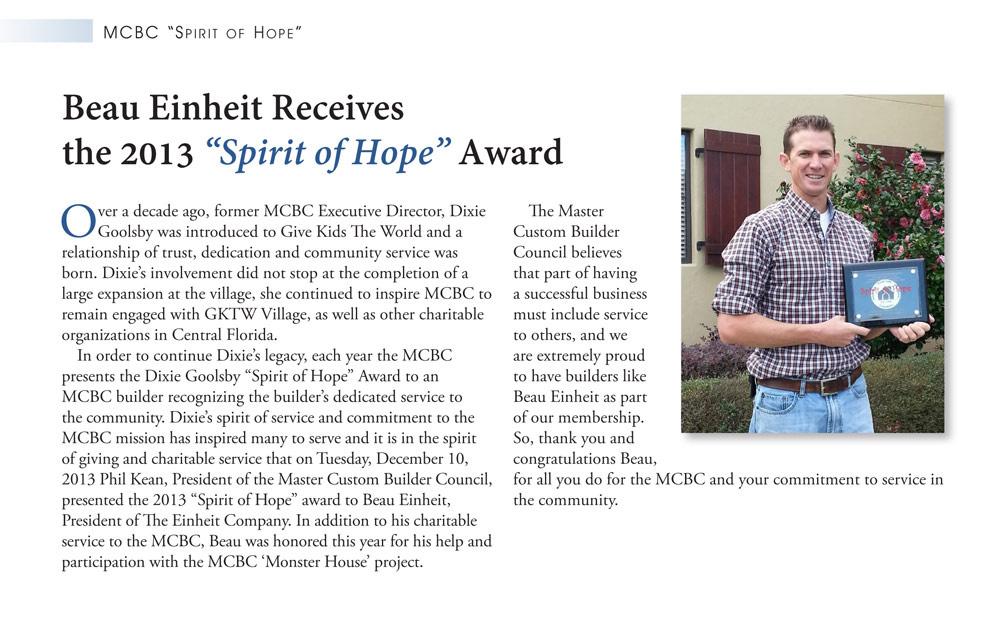 Spirit of Hope Award