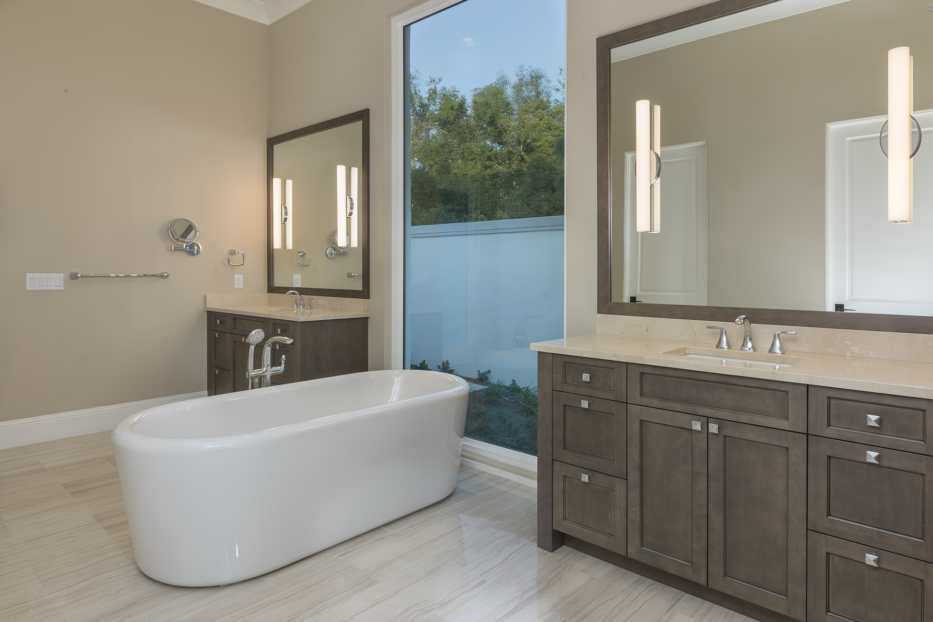 remodeled bathroom designed and built by Einheit Homes