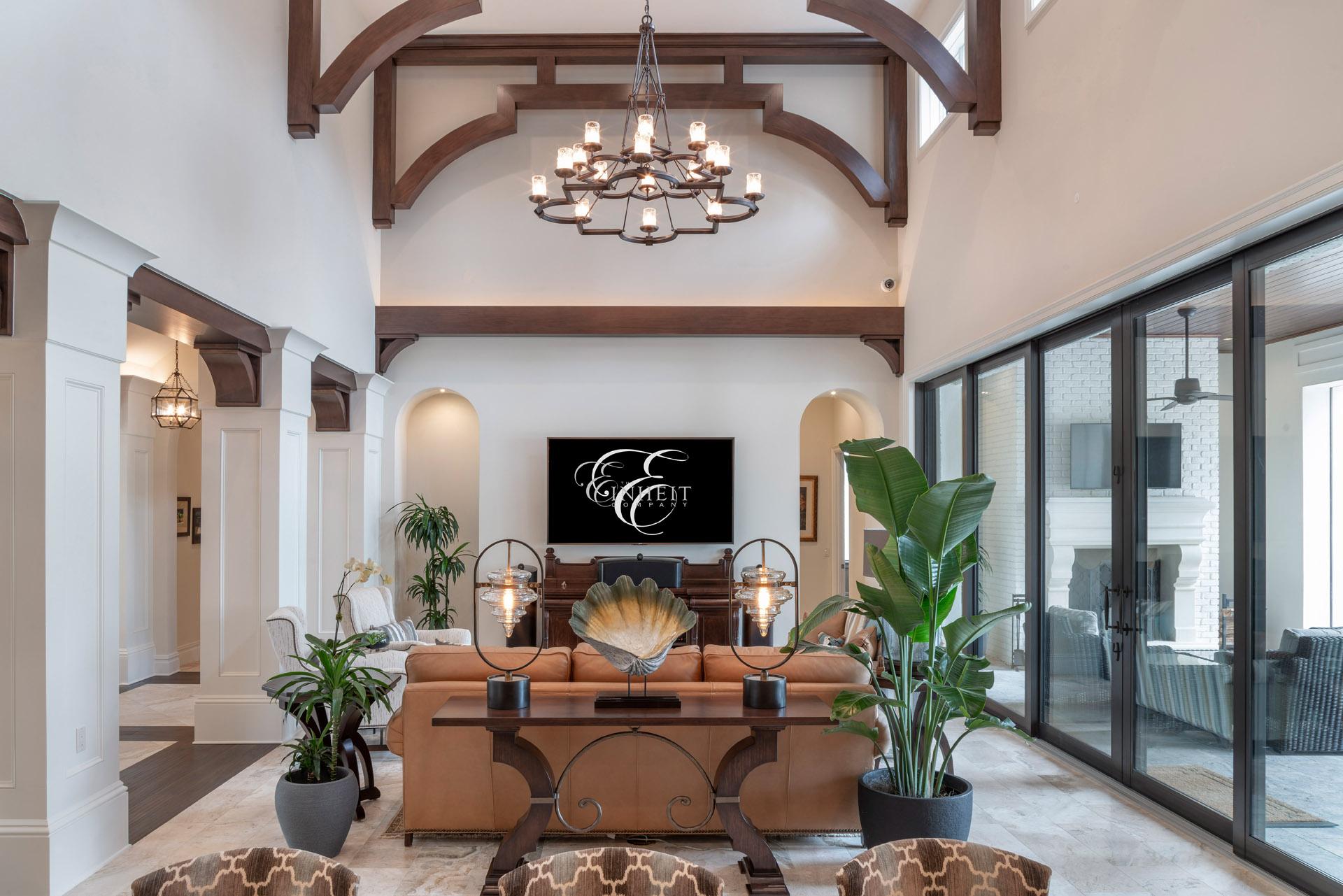 custom interior design in Orlando residential home by Einheit Homes