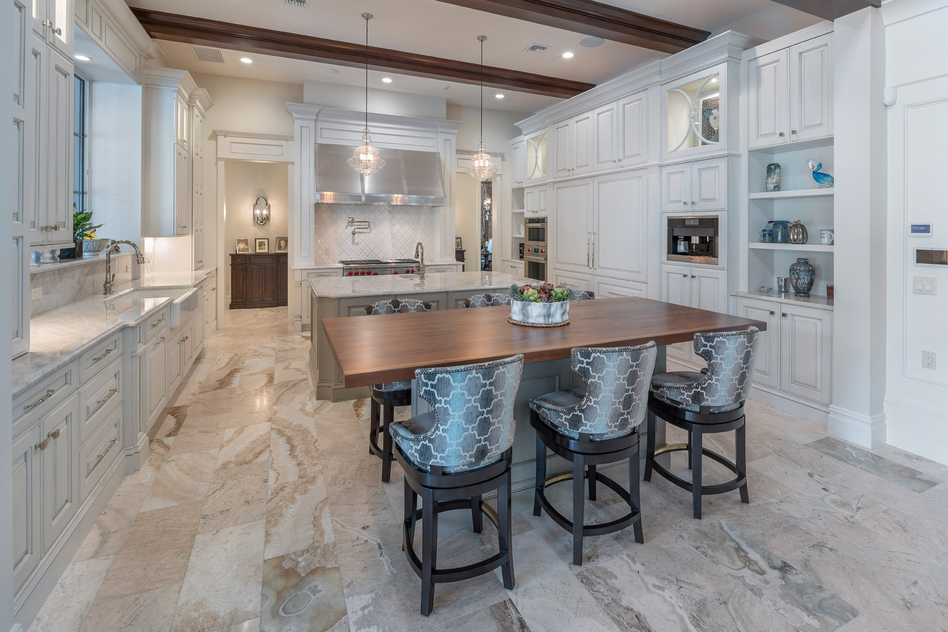 custom kitchen design built by central florida builder Einheit Homes