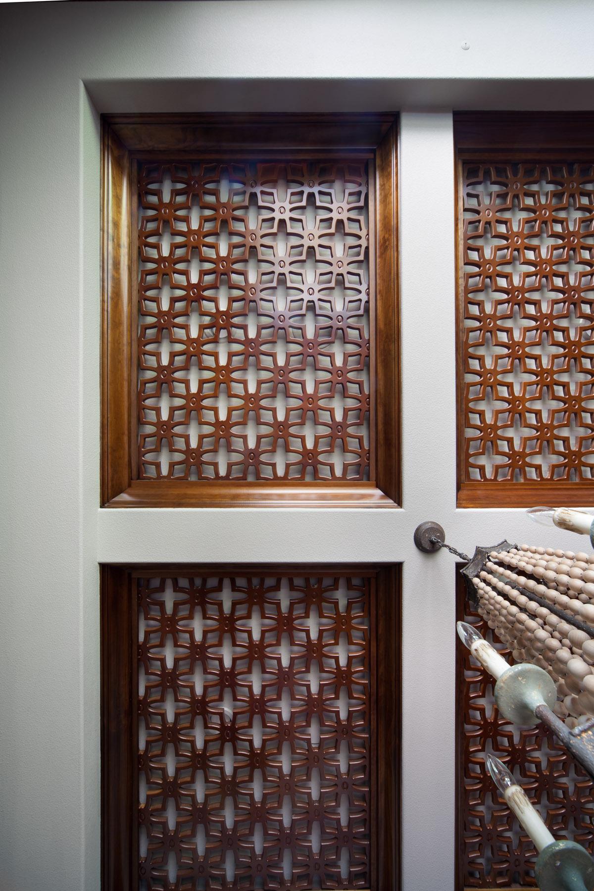 ornate wooden ceiling design built by Einheit Homes