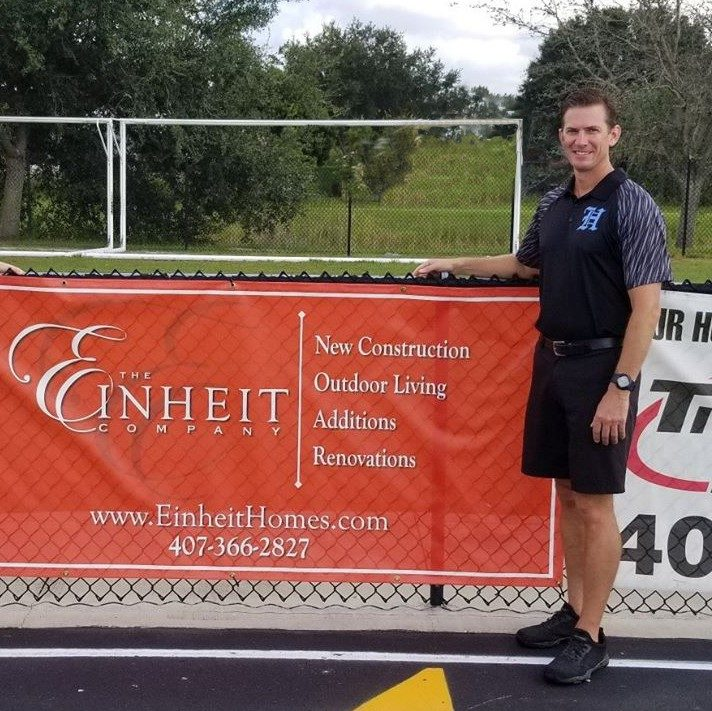 The Einheit Company supports Hagerty High School Athletics
